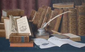 L. Block - El despacho del bibliófilo (S. XIX)
