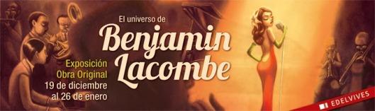 El ilustrador Benjamín Lacombe presenta su primera exposición en España