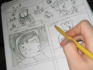 El guionista de cómic : ¿ Un mero trabajo de rellenar bocadillos ?