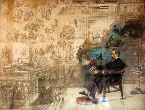 Robert W. Buss - El Sueño de Dickens (1875)