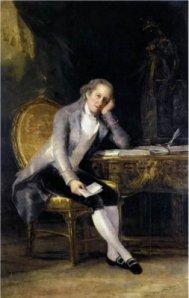 Francisco de Goya, Retrato de Gaspar Melchor de Jovellanos