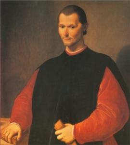 Santi di Tito - Retrato de Maquiavelo (S. XVI)