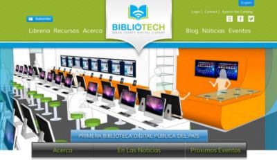 BiblioTech : la primera biblioteca completamente digital