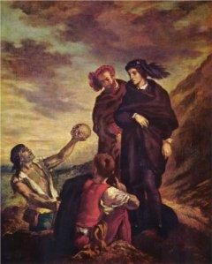 Eugène Delacroix - Hamlet