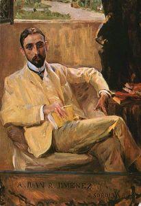Juan Ramón Jiménez, retratado por Joaquín Sorolla
