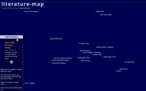 Literature Map : un sencillo y rápido mapas de autores
