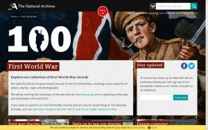 Relatos en primera persona de la Primera Guerra Mundial desde el Archivo Nacional del Reino Unido