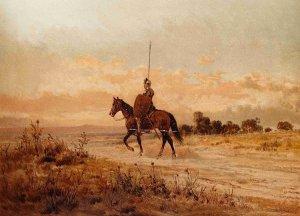 Miguel de Cervantes - Don Quijote de la Mancha, ilustración de Ricardo Balaca (1880-1883)