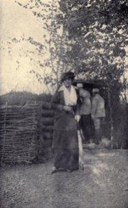 Edith Wharton en el frente