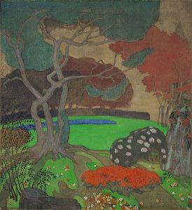 Emil Orlik - Jardín japonés (1904)