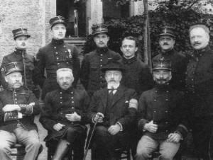 Henri Pirenne en el campo de detención para oficiales de Krefeld (18 de marzo - 12 de mayo 1916)