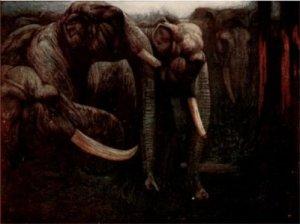 Rudyard Kipling – The Jungle Book, ilustración de Maurice y Edward Detmold (1913)