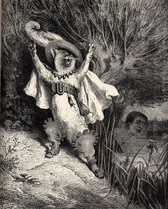 Gustave Doré - El Gato con botas (1883)