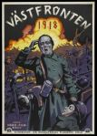 Westfront 1918, cartel sueco de la película