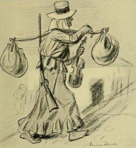 John Reed – The War in Eastern Europe, ilustración de Boardman Robinson (1916)