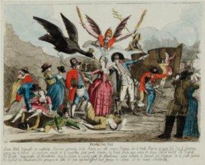Michel Hennin - La huida del Rey (1791)