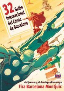 El Salón del Cómic de Barcelona entra en guerra