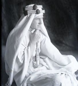 Thomas Edward Lawrence, el soñador cuyos sueños se hicieron realidad, fotografía de Lowell Thomas (1919)