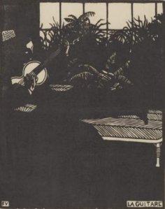 Féix Vallotton - La Guitare
