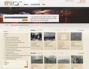 European Film Gateway 1914 : más de 660 horas de audiovisuales sobre la Primera Guerra Mundial