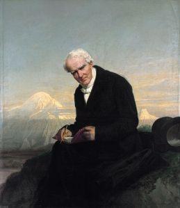 Alexander von Humboldt, retratado por Julius Schrader (1859)