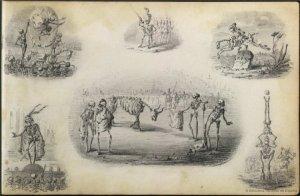 Gustavo Adolfo Bécquer - Les Morts pour rire (1870)