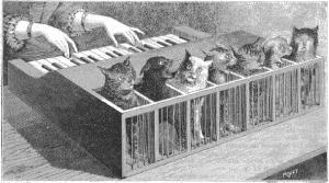 El piano gatuno