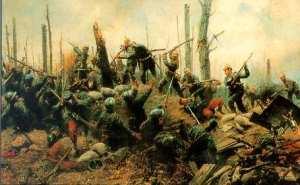 Georg Schöbel – En la batalla de Argonne (1915)