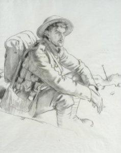 Adrian Hill – Arras Railway Station (1918)