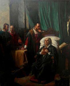 Antonín Lhota – La Muerte de Goethe (S. XIX)