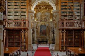 La Biblioteca de la Universidad de Coimbra cumple 500 años