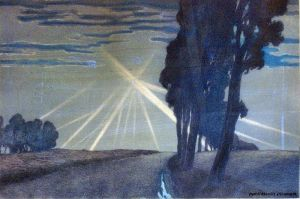 Marc-Henry Meunier – The Searchlights (1917)