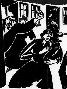 Frans Masereel - La Pasión de un hombre (1918)