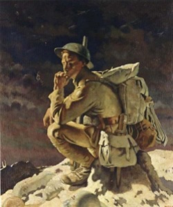 William Orpen – The Thinker (1918)