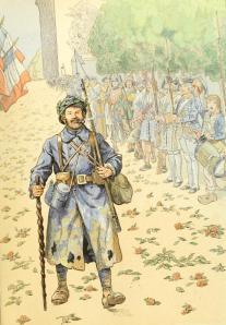 Jean Richepin – Allons, enfants de la patrie !, Le Triomphe du Poilu, ilustración de Job (1920)