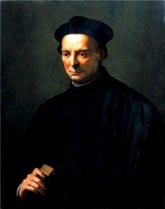 Niccolò Machiavelli, por Ridolfo del Ghirlandaio