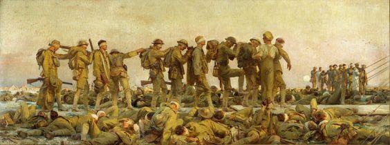 John Singer Sargent - Gassed (1919)