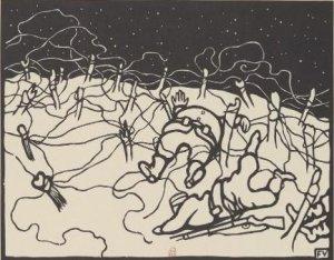Félix Vallotton – Les Fils de fer (C'est la guerre), 1916