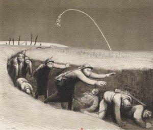 Jean Veber – Les Gaz (1918)