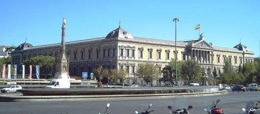 Galones para la Biblioteca Nacional