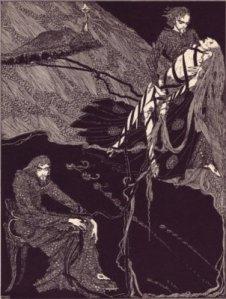 Edgar Allan Poe - Berenice, ilustración de Harry Clarke (1923)
