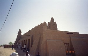 Mezquita Djinguereber en Tombuctú