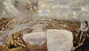 El Greco - Vista de Toledo (1608)