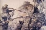 George Matthews Harding - Storming Machine Gun (1918)