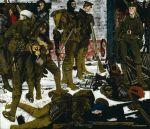 Eric Henri Kennington - The Kensingtons at Laventie, Winter 1914 (1915)