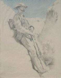 A Man in a Trench: April 1917, two miles from the Hindenburg Line