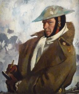 William Orpen, autorretrato (1917)