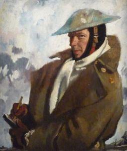 William Orpen, autorretrato (1917)