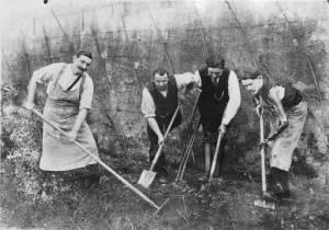 Léopold Poiré – Mutilados de la guerra (1916)