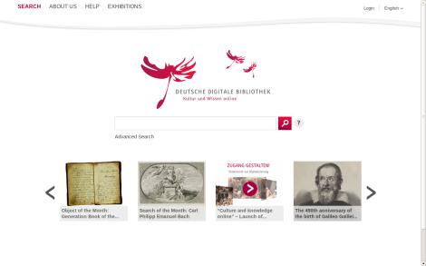 La Biblioteca Digital Alemana ya está en línea @ddbkultur